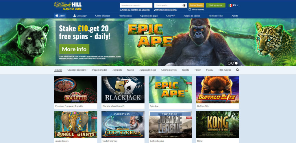William Hill CO